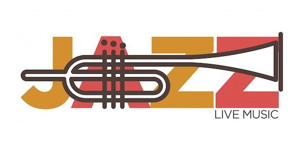 Bannière de musique live jazz