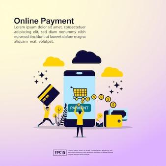 Bannière de paiement en ligne