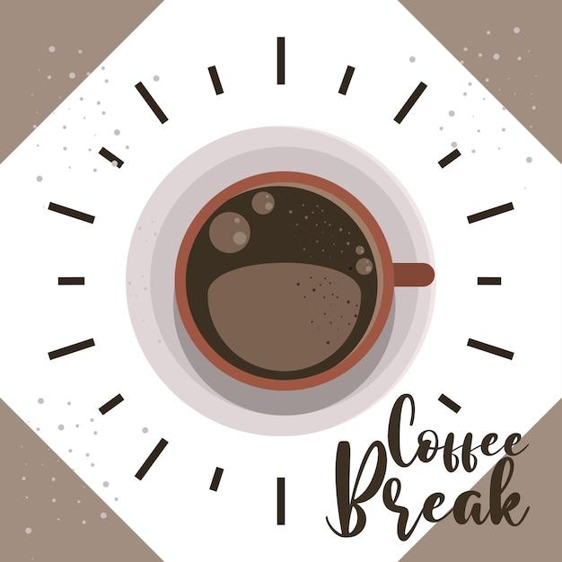 Bannière de pause-café