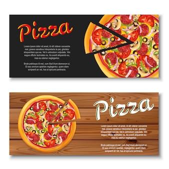 Bannière de pizza