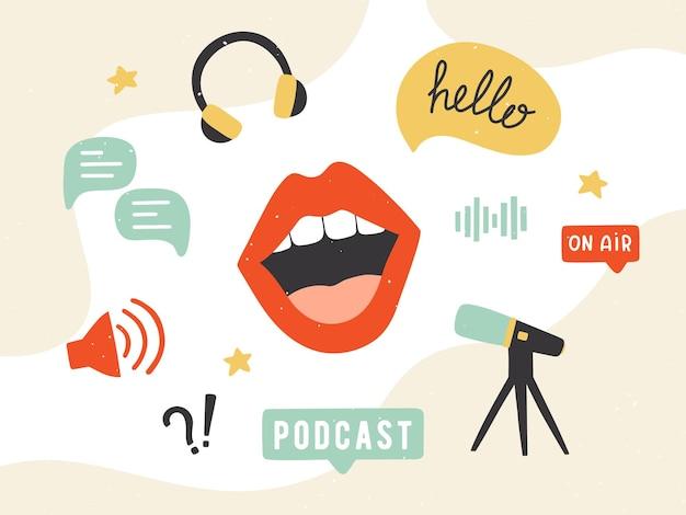 Bannière de podcast