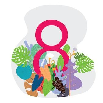 Bannière pour la journée internationale de la femme