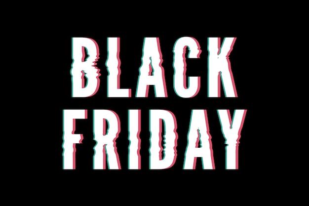 Bannière promotionnelle de vente du vendredi noir