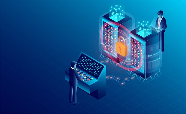 Bannière de protection de traitement de données