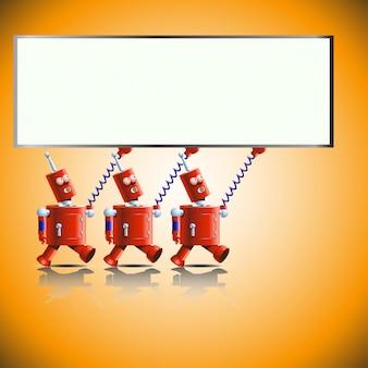 Bannière de robots