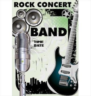 Bannière de rock