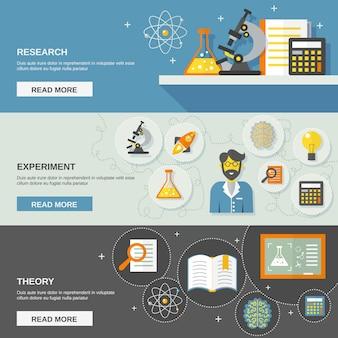 Bannière science et recherche