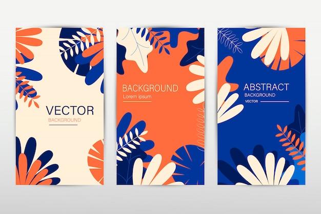 Bannière de site web, conception d'en-tête verticale, remise sur les soldes de printemps. illustration de fleurs colorées