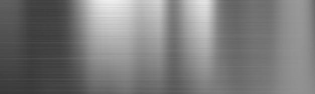 Bannière de texture dégradée en acier brossé