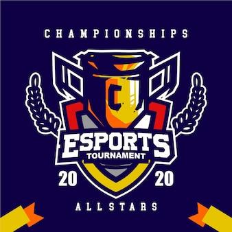 Bannière de tournoi e-sport