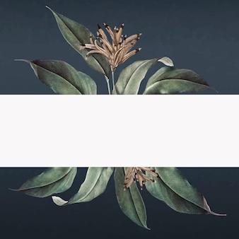 Bannière tropicale
