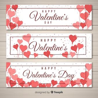 Bannière valentine