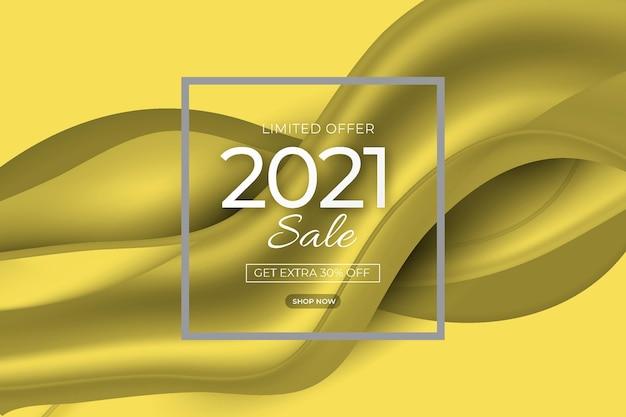 Bannière de vente abstraite avec des couleurs grises lumineuses et ultimes