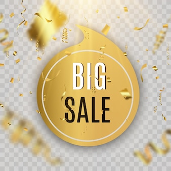 Bannière de vente du vendredi noir illustration vectorielle bannière ronde de balise noire