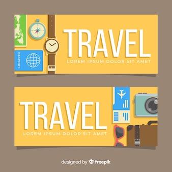 Bannière de voyage