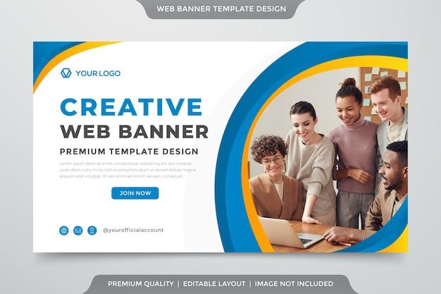 Bannière web créative