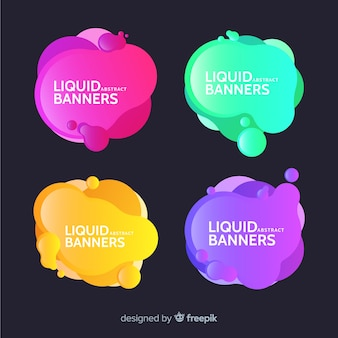 Bannières abstrac