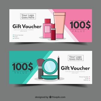 Bannières de beauté discount