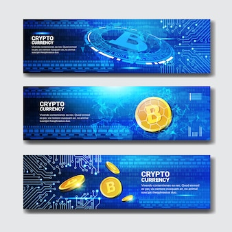 Bannières bitcoin