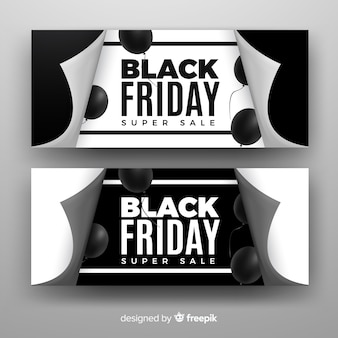 Bannières black friday
