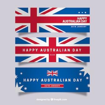 Bannières célébration autralian