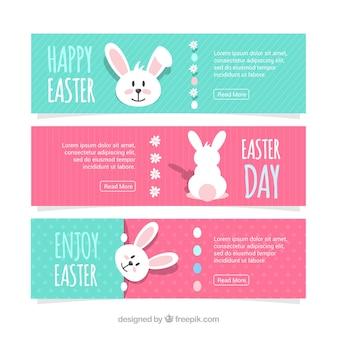 Bannières de Pâques