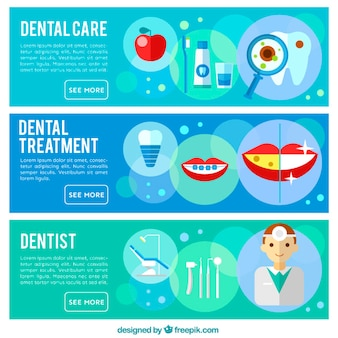 Bannières dentiste