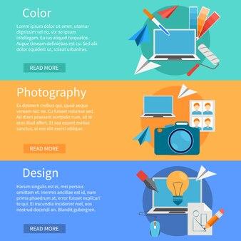 Bannières de design