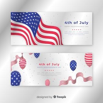Bannières du 4 juillet