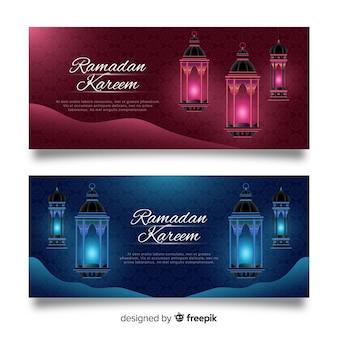 Bannières du ramadan
