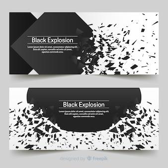 Bannières d'explosion