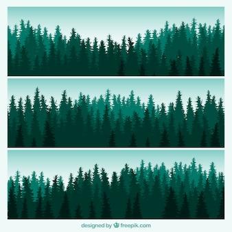 Bannières forestiers