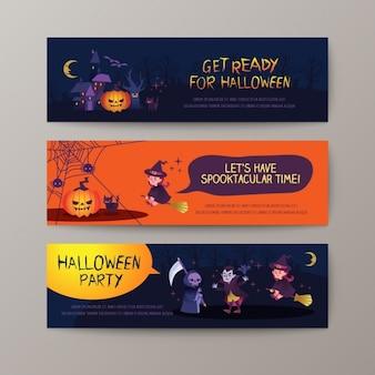 Bannières halloween collection