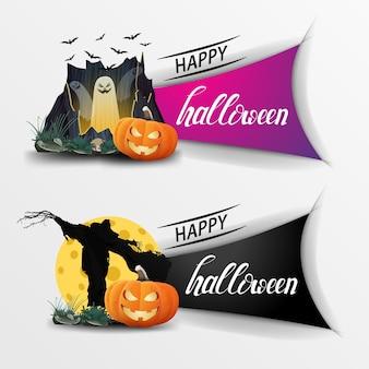 Bannières happy halloween