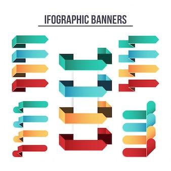 Bannières d'infographie