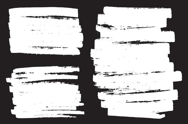 Bannières de marqueur grunge
