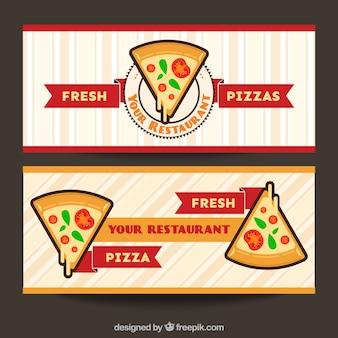 Bannières pizzeria