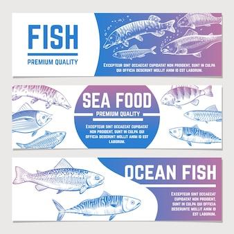 Bannières de poisson