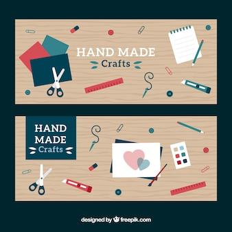 Bannières à propos de l'artisanat