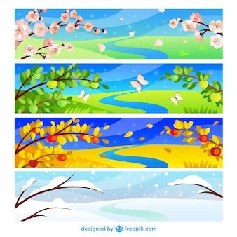 Bannières saisonnières