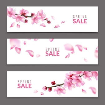 Bannières sakura