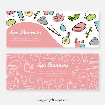 Bannières de spa