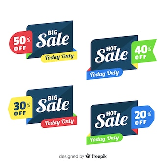 Bannières de vente