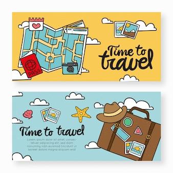 Bannières de voyage
