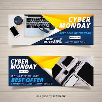 Bannières web cyber lundi