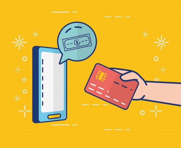 Banque en ligne sur smartphone