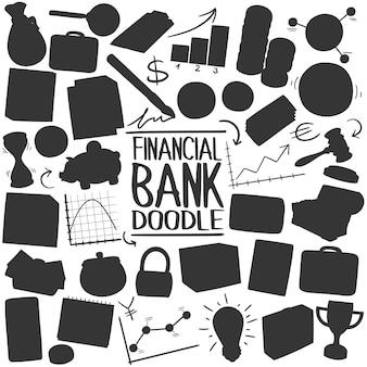 Banque silhouette clipart vectoriel