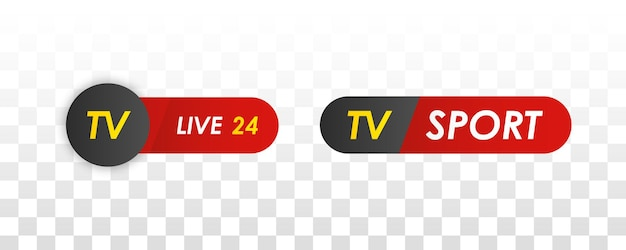 Bar news tv logos news feeds chaînes de radio de télévision