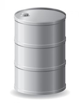 Baril métallique