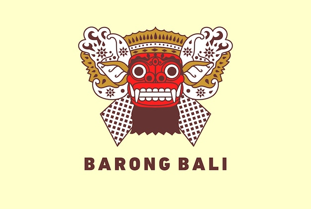 Barong culture traditionnelle de bali